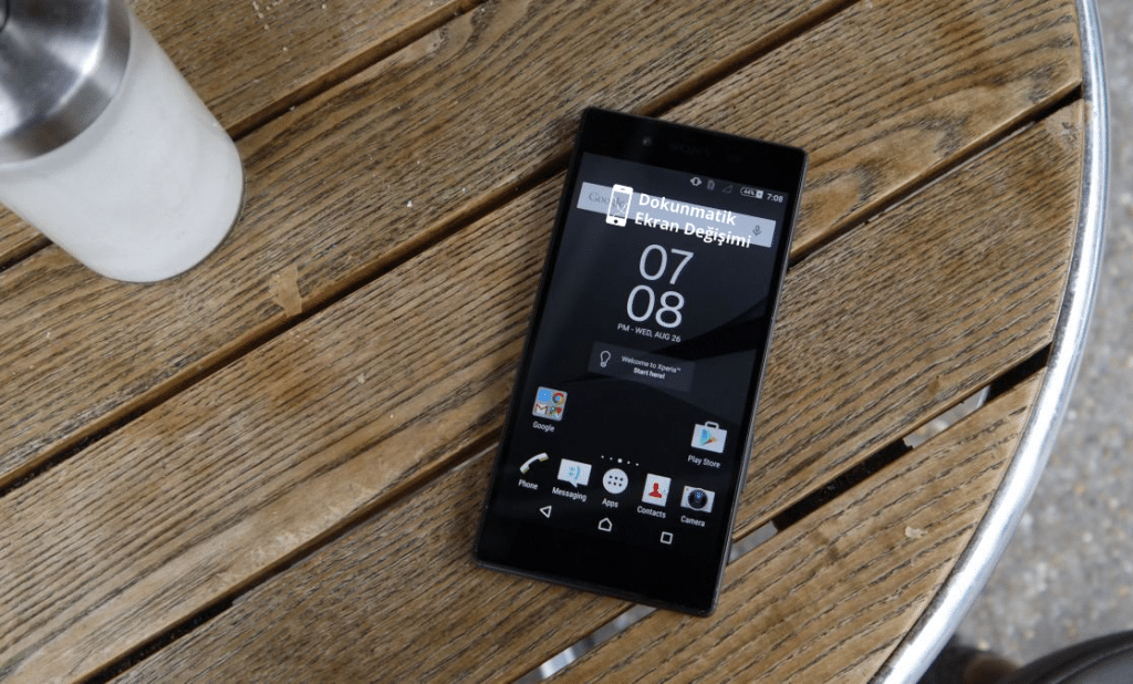 Sony X5 Ekran