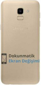 Samsung j6 arka kapak
